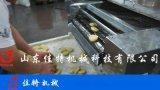 连续式酥肉裹浆油炸机 自动化程度高的油炸机
