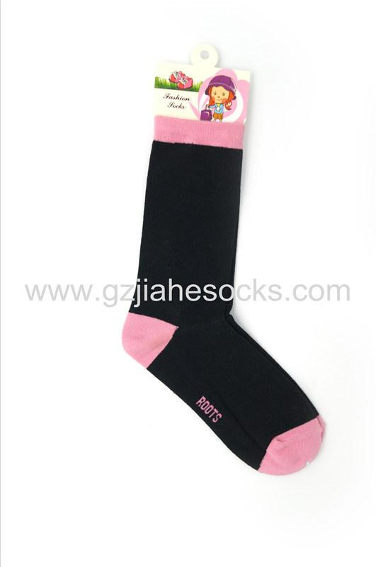 童袜/韩版 儿童长筒及膝袜子 儿童外贸出口袜子厂家