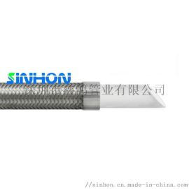 英国进口食品级特氟龙软管,PEFE铁氟龙螺旋钢丝管
