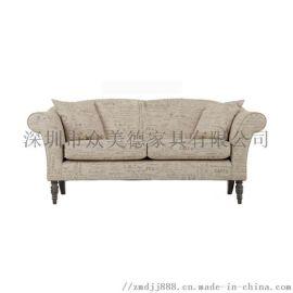 休闲软包沙发定做,咖啡厅沙发款式,懒人扶手沙发