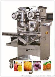 上海彬康全自动包馅机曲奇饼干机器 糯米年糕机器月饼包馅成型机