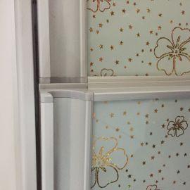铝合金家具晶钢门橱柜门铝材