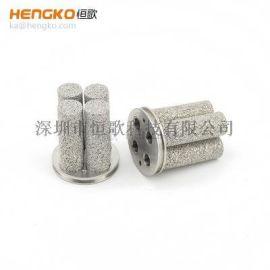 厂家生产金属粉末烧结过滤筒不锈钢316L过滤芯