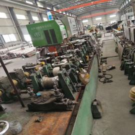 苏州出售二手制管机械设备 圆管变方管成型机 装饰管焊管机组厂家