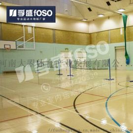 篮球场木地板 室内体育馆 专业运动木地板