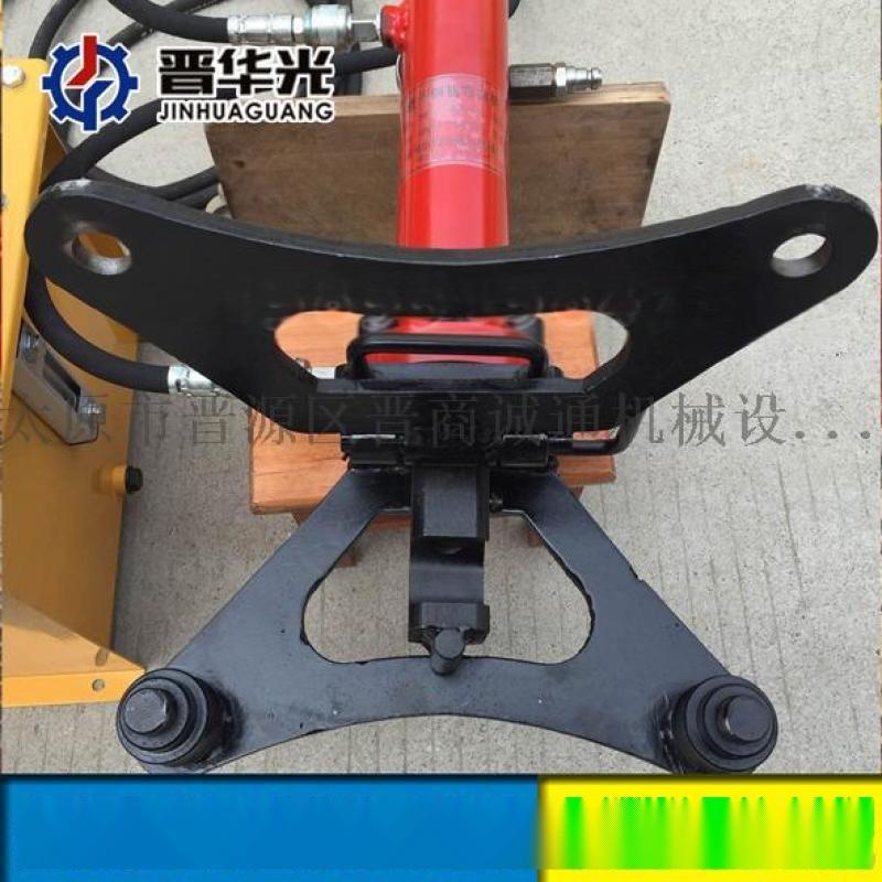 湖北孝感手提式钢筋调直弯曲一体机桩基钢筋液压弯曲机