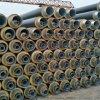 国标聚氨酯复合保温管,塑套钢热力保温管