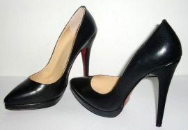 时装高跟鞋加工定做鞋厂