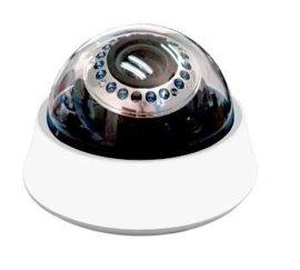 室内红外高线宽动态半球摄像机