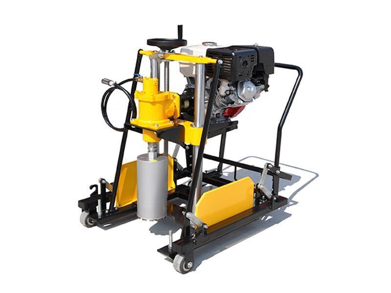 路得威 汽油柴油 鑽孔取芯機混凝土路面採樣取芯機混凝土取芯機