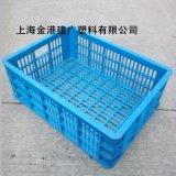 供應 優質塑膠筐 450*320*165 塑料週轉筐 雞蛋筐 小號全新料筐