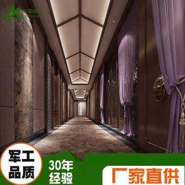 铝窗花 铝屏风厂家定制 复古风格 门店 大气典雅 应有尽有!!