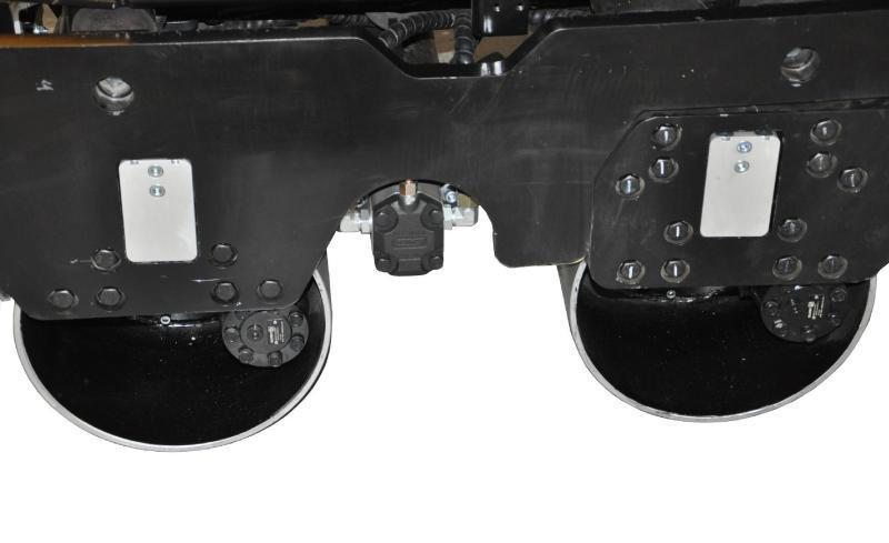 小型汽油/柴油動力手扶雙鋼輪壓路機RWYL35/35C(液壓