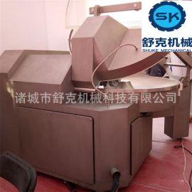 供应爆款快餐料理包馅料斩拌机 三速自动出料型斩拌机 提供定制