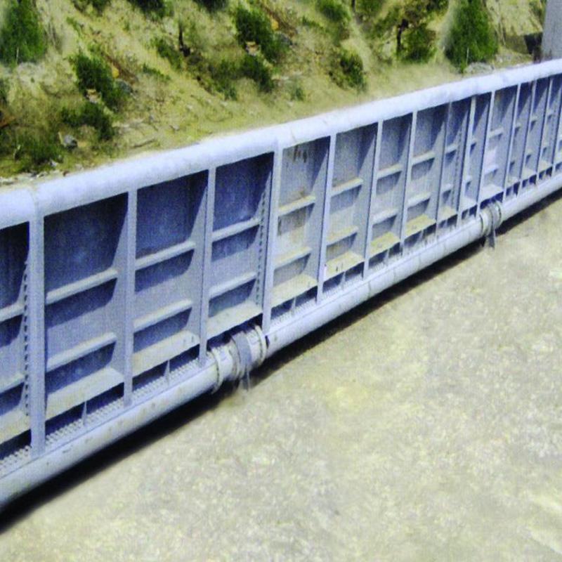 鋼壩閘門 插板式鋼閘門 機閘一體鋼製閘門