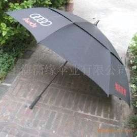 **高尔夫伞广告伞、双层防风高尔夫伞太阳伞