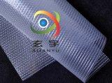 現貨供應PVC包裝夾網布 週轉箱防塵簾子布 透明網格布