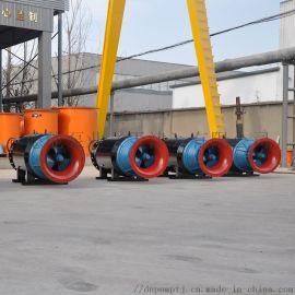 城市排水系统整体改造_潜水轴流泵