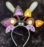 髮箍動物耳朵可愛兒童髮箍萬聖節裝飾派對精品