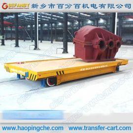 爬坡式地轨平板车380V交流轨道车