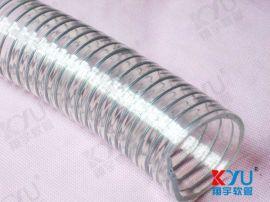 红酒输送管,高温钢丝管,PU平滑钢丝输送管