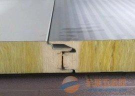 辽宁聚氨酯封边新型玻璃丝棉夹心板