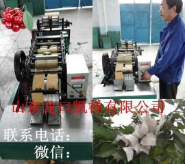 凯祥三代gdj-3生产白色70*110小纸袋樱桃草莓套袋机