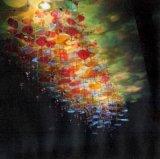 酒店工程燈飾吹玻璃荷葉碟片吸頂燈