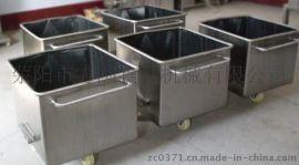 郑州专业加工定制各种料车,批发不锈钢料车