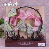 小小公主手工布藝髮箍髮夾 兒童飾品套裝禮盒