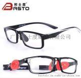 邦士度近視眼鏡框男女光學超輕TR90籃球眼鏡防霧運動眼鏡架魔術師