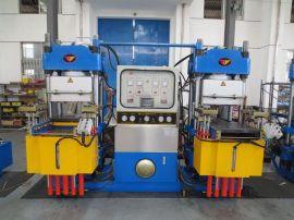 橡胶汽车配件**化热压成型机 刹车片耐磨材料热压成型机