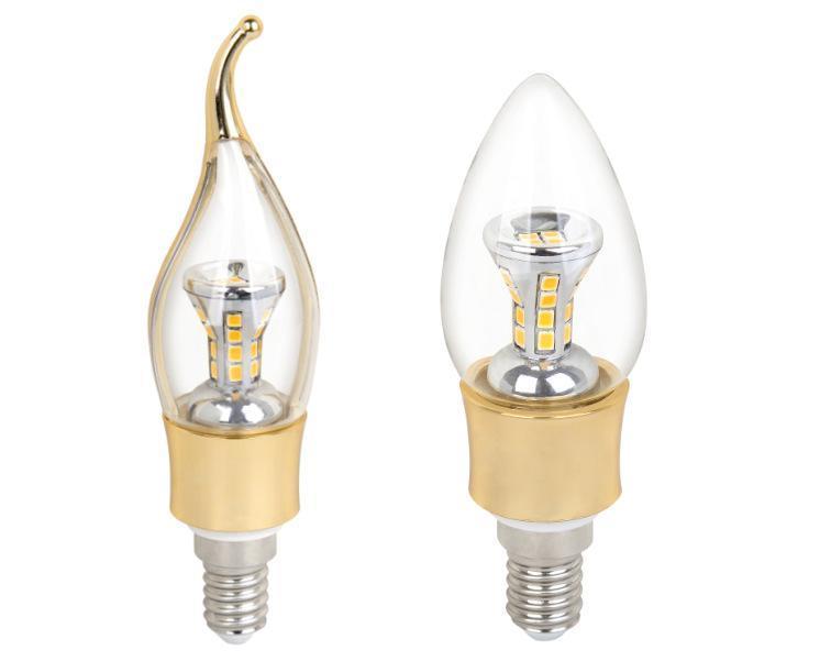 廠家直銷水晶餐吊專用燈頭邁肯E27蠟尾泡