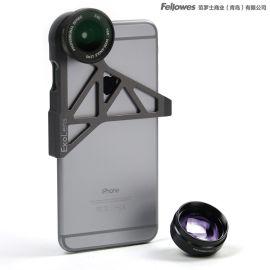 美国范罗士Exolens iPhone6s/plus手机镜头广角镜头长焦镜头组合套装