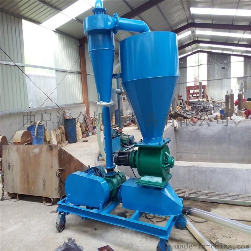 高扬程气力吸料机 农场粮食气力吸粮机 可移动式吸粮机