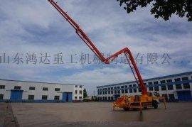 国产底盘鸿达重工混凝土泵车销售国内外