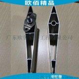 郑州日产银色率格栅百叶 大小头梭子型日产百叶格栅铝管