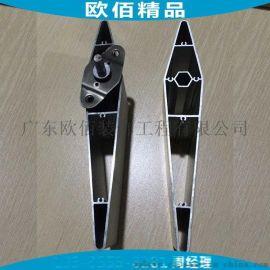 鄭州日產銀色率格柵百葉 大小頭梭子型日產百葉格柵鋁管