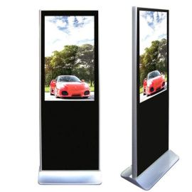 厂家供应 55寸云智能落地立式高清广告机LED播放器液晶显示屏