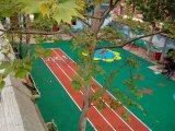 校園跑道,深圳現澆地墊EPDM地墊,鬆崗安全地膠廠家