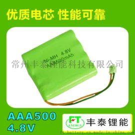 AA800mAh 4.8V可充电池PACK