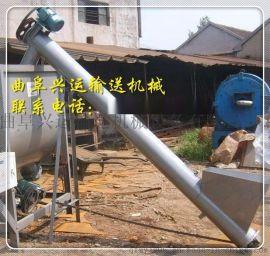 土方装卸车管式输送机,小石子混凝土提升机
