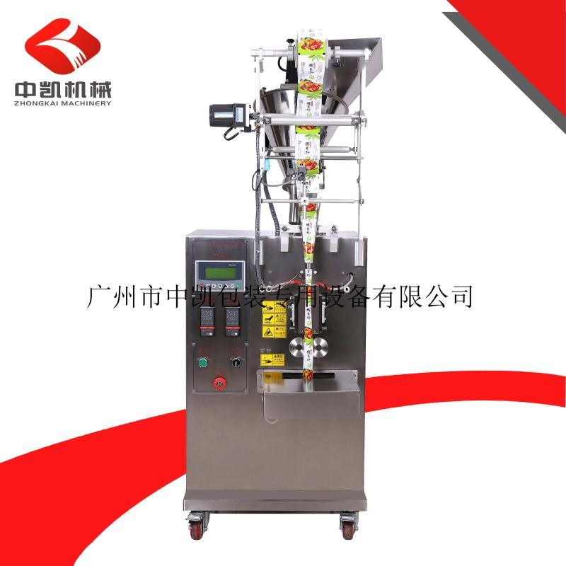 供应农药粉末、漂白粉末等化工粉剂的立式粉类粉剂自动包装机