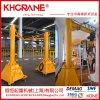 廠家直銷125kg定柱式懸臂吊起重機,立柱式懸臂吊kbk250公斤0.5噸
