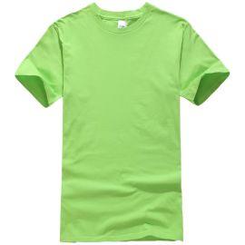 夏季新款男 女款圆领纯棉T恤衫短袖学生校服来图来样订做印制LOGO