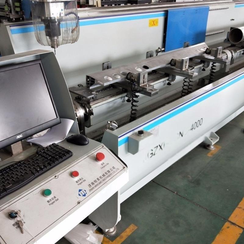 铝型材四轴翻转台加工中心铝型材龙门数控设备