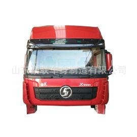 德龙X3000高顶总成发动机自卸车内外饰件车架大梁图片价格厂家