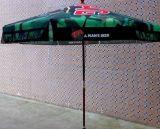 深圳虹彩雨伞可定制48寸热转印户外木制庭院伞,雨伞专业生产厂家
