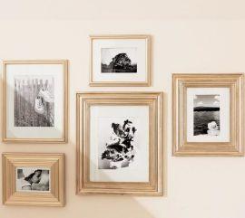 精美组合相框 画框实木 可定制尺寸 创意木质相框摆台 大量批发