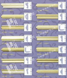 中式现代简约别墅装修收口线檐口线